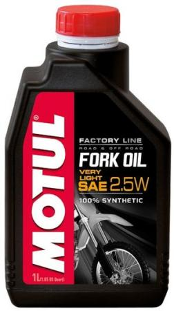 821901/FORK OIL VERY LIGHT FACTORY LINE SAE 2,5W (1L)/105962